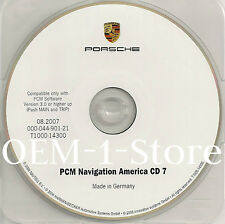 03 2004 PORSCHE 911 CARRERA 4 4S CAYENNE BOXSTER NAVIGATION NAV CD MAP 7 MEXICO