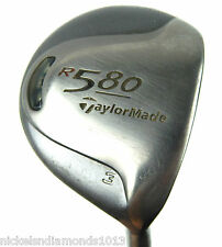 TaylorMade R580 Fairway 3 Wood Ladies / Senior Flex Graphite Titanium Needs Grip