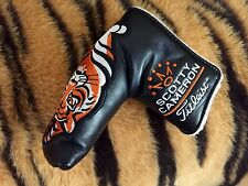 Scotty Cameron Korea Cup Black Leather Tiger EXTREMELY RARE LIMITED NOOB