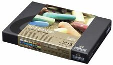 Rembrandt Soft Pastels - SET OF 15 1/2 LENGTH