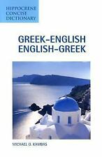 Concise Dictionaries: Greek-English English-Greek Concise Dictionary by...