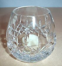 Waterford LISMORE Clear Crystal Votive Candle Holder 107610 New