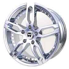 4 GWG Wheels 18 inch Chrome KENZI Rims fits 2003 CHEVY MONTE CARLO 5x115