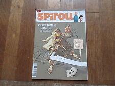 JOURNAL BD  SPIROU 3736 + flipbook de jacques libon