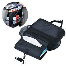 Car Seat Back Box Multi-Pocket Storage Cool Hot Bag Tidy Organizer Travel Holder