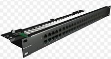 Brand-Rex Patch Panel Cat3 Precaricato 50 Porte C5CPNLU506PK2 Data Telephone
