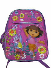 "A03557 Dora the Explorer Large Backpack 16"" x 12"""