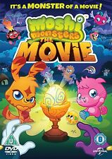 MOSHI MONSTERS THE MOVIE    BRAND NEW SEALED GENUINE UK DVD