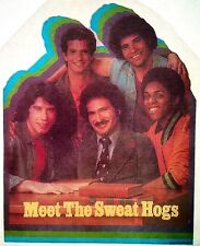 Vintage 1976 Welcome Back Kotter Iron-On Transfer Sweat Hogs Travolta RARE!
