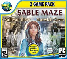 Sable Maze hidden object 2 game pack PC Games Windows 10 8 7 Vista XP Computer