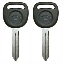 2 New OEM Chevy Trailblazer Key Blank 02 03 04 05 06 07 08 2009 598007 15026223