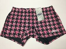 Asics Women's Digital Frog Reversible Short Volleyball Running Gym Size 2XS