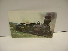 Vintage Cass Scenic Railroad Giant Post Card 250380 Clarkson