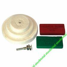 Juego de accesorios para pulido, 6 pzas Incluye 3 ruedas pulidoras de 50, 153203