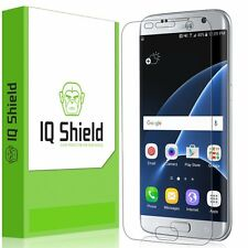 Galaxy S7 Edge Screen Protector, IQ Shield LiQuidSkin Full Coverage Screen NEW