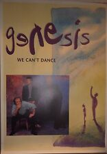 """MUSIC POSTER~Genesis We Can't Dance Phil Collins Members 1991 24x34"""" 1991 NOS~"""
