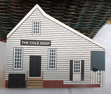CAT'S MEOW SHELF SITTER ~ THE COLE SHOP ~ GLOUCESTER ST. SERIES ~ 1994 ~ SIGNED