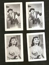 4 MGM Movie Cards ZIEGFELD FOLLIES 1946 w/ RED SKELTON  LENA HORNE nm-Mint COND.