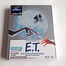 E.T. The Extra Terrestrial Blu-Ray Steelbook [Japan] W/Booklet! Rare! Sold Out!!