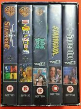 WCW/NWO Pay-Per-View Collection 1 VHS 5-Tape Box Set PAL PPV Warner Home Video
