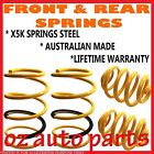 HOLDEN COMMODORE VT VX VY VZ CLUBSPORT/SS/R8 97-06 FRONT & REAR LOW 30MM SPRINGS