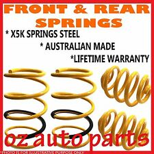 MITSUBISHI PAJERO NM SWB DIESEL EXPORT 5/00-02 FRONT & REAR LOWERED 30MM SPRINGS