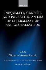 UNU/WIDER Studies in Development Economics Ser.: Inequality, Growth, and...