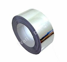 "1"" x 7.5 mtrs Silver Chrome Mirror Vinyl Tape for Bike/Car Exterior Styling**"