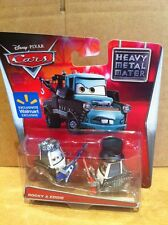 "DISNEY CARS TOONS DIECAST - ""Rocky & Eddie"" - New 2015 Card -Combined Postage"