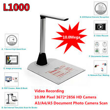 L1000 10Mega Mini A3 Portable Document Scanner Visualizer Presenter Projector