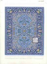 Rug  1L  miniature dollhouse woven fabric carpet  1pc 1/12 scale Turkish