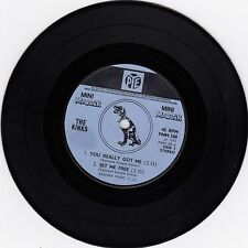 "THE KINKS YOU REALLY GOT ME ORIGINAL PYE MINI MONSTER 1971 RECORD UK 7"" 45rpm"