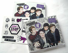 5 Seconds Of Summer - Don't Stop - NEW 2 x CD Singles SET + Stickers