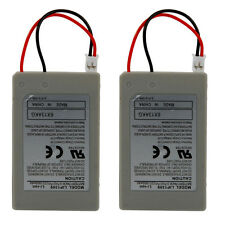 High-Capacity Lot 2 1800mAh Rechargeable Battery Controller FOR SONY PS3