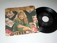 45 RPM w/PIC SLEEVE Hayley Mills JEEPERS CREEPERS/JOHNNY JUNGO Buena Vista