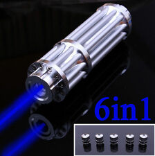 450nm Blue Light Laser Pointer Pen Beam Powerful Light Laser Military Pen New