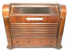 vintage RCA VICTOR 28X5  RADIO part: WOOD SHELL in GOOD SHAPE