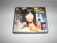 COMPIL DOUBLE CD THE DISCO BOX SUMMER SABRINA OCEAN