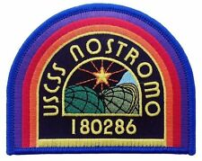 Alien Movie U.S.C.S.S. Nostromo Crew Logo Embroidered Patch