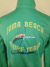 Juma Beach Cali Surf Team 2005 Embroider Picasso Style Training Fitness Jacket M