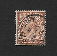 Great Britain, Postage Stamp Three Half Pence 1924-1928 (Z1)