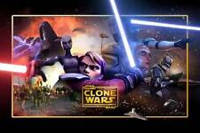 STAR WARS: THE CLONE WARS Movie POSTER 11x17 B Created by George Lucas