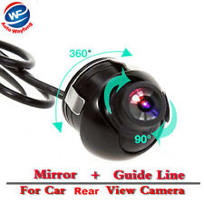 Waterproof CCD/HD 360 Degree Car Rear View Camera Parking Cam Night Vision