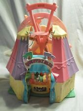 Loving Family Sweet Streets Playset Country Fair Fisher Price Doll House Toy
