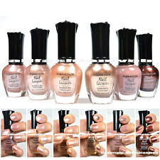 Kleancolor Nail Polish Natural Nude Beige Colors Lot of 6! Lacquer Collection