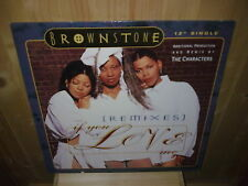 "BROWNSTONE if you love me - 12"" MAXI 45 T"