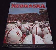 Nebraska Huskers Spring Football Game Program Magazine 2005