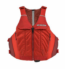 "Astral Designs Linda Sculpted Life Vest PFD for Women, S/M 31-37"" chest - Red"