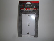 RADIO SHACK 279-004  MOD. TELEPHONE PLATE 4-PIN(RJ-11/RJ-14) WALL MOUNT 2790004