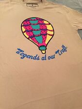 PINK DOLPHIN LEGENDS HOT AIR BALOON T GREY IN WHITE SZ SM !!!!
